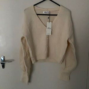 Button up cardigan in size extra small